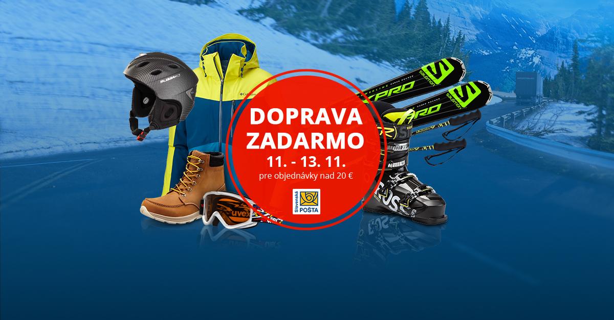 Doprava ZADARMO so Slovenskou poštou 11. – 13. 11.