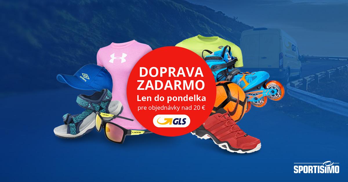 Doprava ZADARMO nad 20 € s GLS: od 18. do 20. augusta