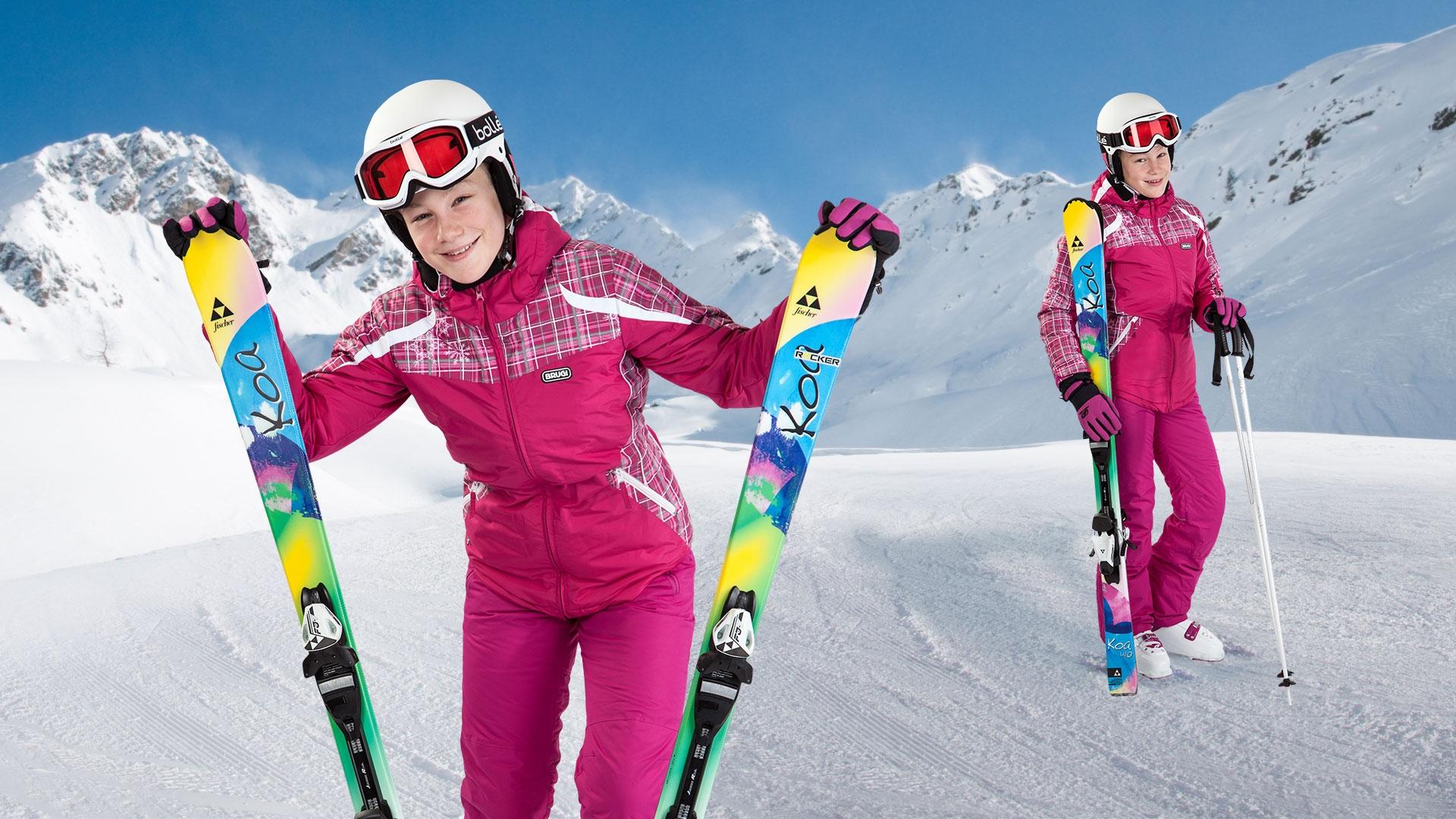 Detský lyžiarsky set