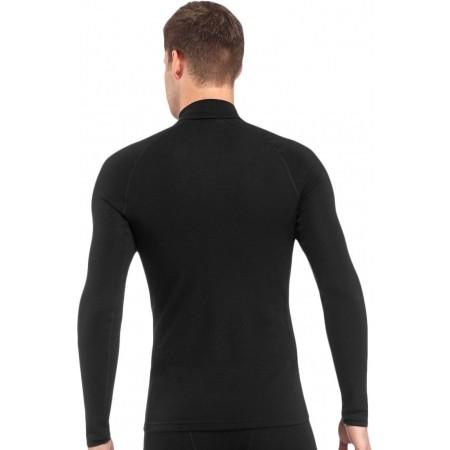 Pánske termo tričko s dlhým rukávom - Icebreaker MENS EDAY LS HZ - 4