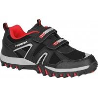 Reaper RENZO-4KB BLK/RED MODNI OBUV - Detská obuv pre voľný čas - Nike
