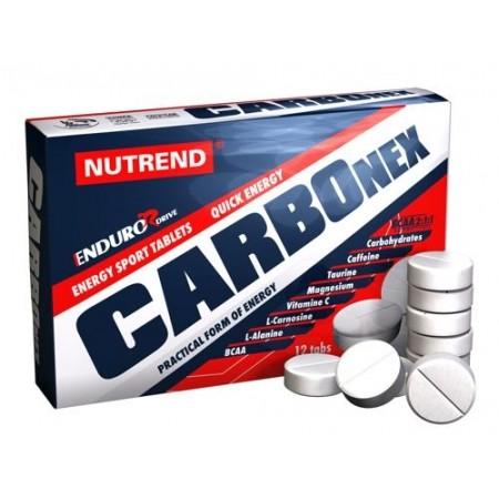 Energetické tablety - Nutrend CARBONEX 12 TBL