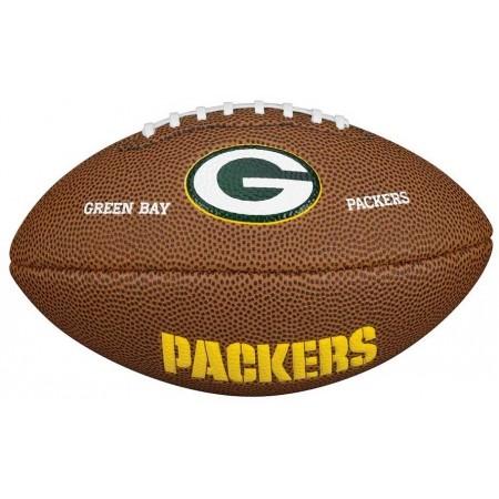 Mini lopta pre americký futbal - Wilson NFL MINI TEAM LOGO