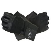 Nutrend MadMax PROFESSIONAL M čierne - Fitnes rukavice