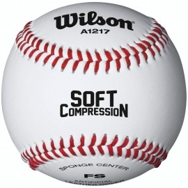 Wilson SOFT COMPRESSION - Bejzbolová lopta
