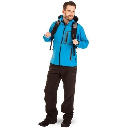Pánske outdoorové nohavice - Hi-Tec TRAMAN SOFTSHELL PANTS LIGHT - 5