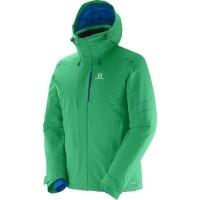 Salomon ICESTORM JACKET M - Pánska lyžiarska bunda