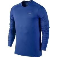 Nike DRI-FIT MILLER LS - Pánske bežecké tričko