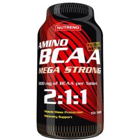 Bcaa - Nutrend BCAA MEGA STRONG 150 KAPS