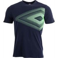 Umbro VELOCITA GRAPHIC COTTON TEE - Pánske tričko