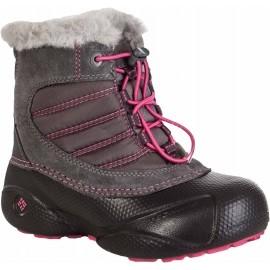 Columbia YOUTH ROPE TOW - Detská zimná obuv