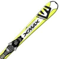 Salomon E X-MAX JR S + E EZY5 B80 - Juniorské zjazdové lyže