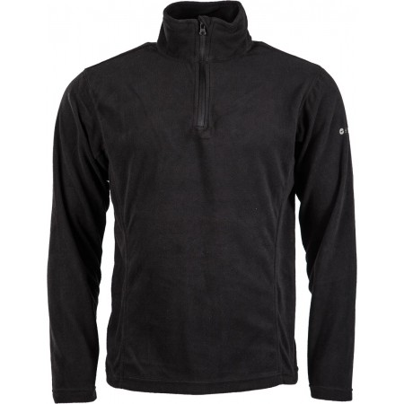 FANTO II BLACK FLEECE - Pánska mikina - Hi-Tec FANTO II BLACK FLEECE - 1