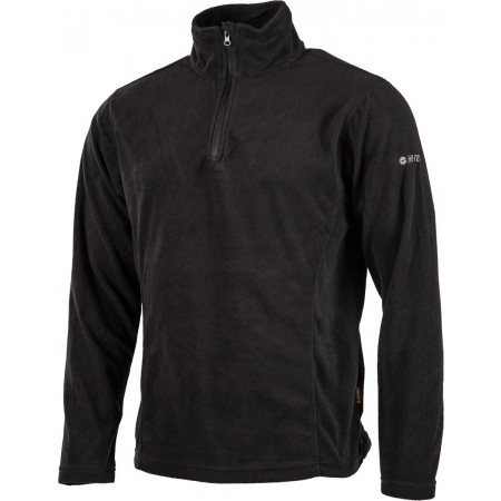 FANTO II BLACK FLEECE - Pánska mikina - Hi-Tec FANTO II BLACK FLEECE - 2