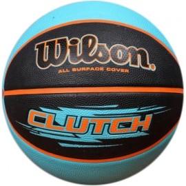 Wilson CLUTCH RBR BSKT BLAQU - Basketbalová lopta