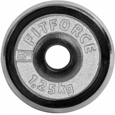 Nakladací kotúč - Fitforce NAKLADACI KOTÚČ 1,25KG CHROM