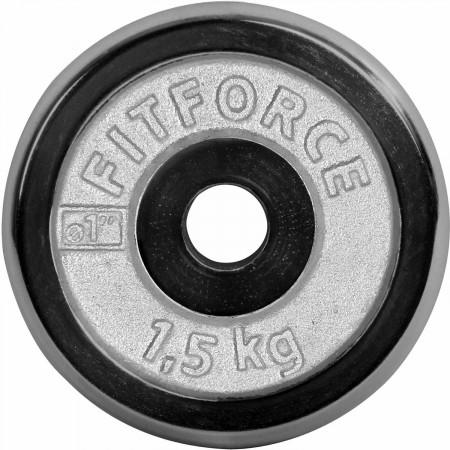 Nakladací kotúč - Fitforce NAKLADACÍ KOTÚČ 1,5KG CHROM