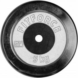 Fitforce NAKLADACÍ KOTÚČ 5KG CHROM - Nakladací kotúč