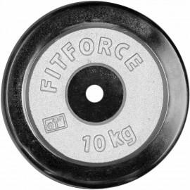 Fitforce NAKLADACÍ KOTÚČ 10KG CHROM - Nakladací kotúč