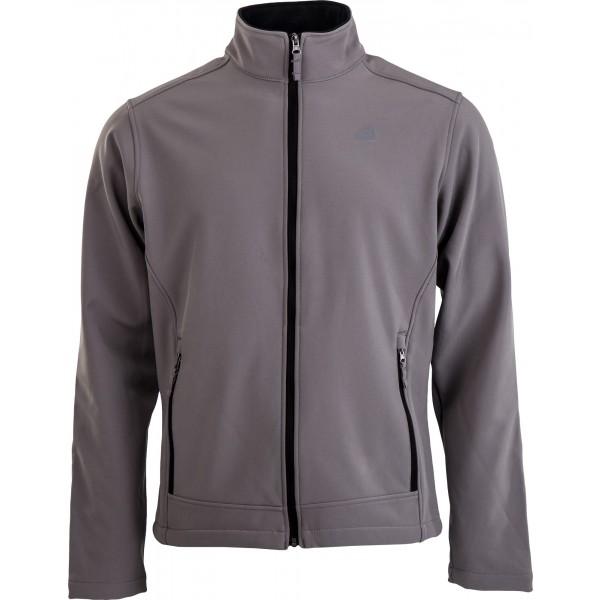 ALPINE PRO AGULHAS - Pánska softshellová bunda