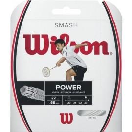 Wilson SMASH 66 WHITE - Výplet bedmintonovej rakety