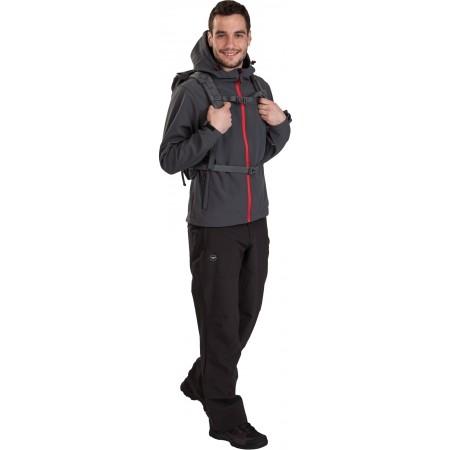 Pánske outdoorové nohavice - Hi-Tec TRAMAN SOFTSHELL PANTS LIGHT - 7