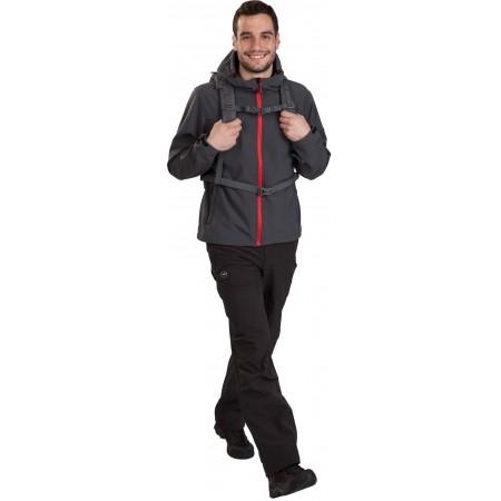 Pánske outdoorové nohavice - Hi-Tec TRAMAN SOFTSHELL PANTS LIGHT - 8