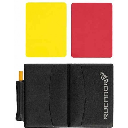 Karty rozhodca - Rucanor Card set - 1