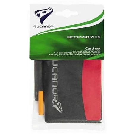 Karty rozhodca - Rucanor Card set - 3
