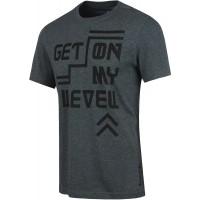 Reebok GET ON MY LEVEL GRAPHIC TEE - Pánske tričko
