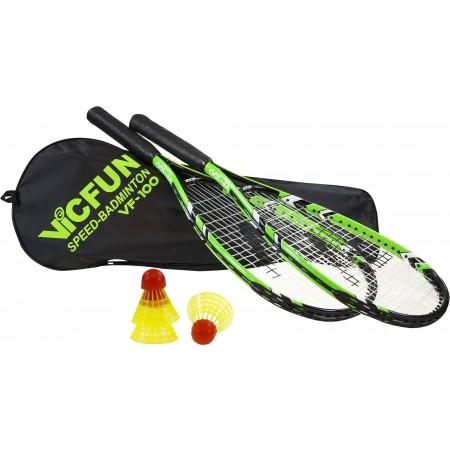 Speedbedminton SET - Victor VF 100 - 1
