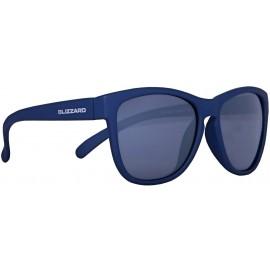 Blizzard RUBBER DARK BLUE POL - Polarizačné slnečné okuliare