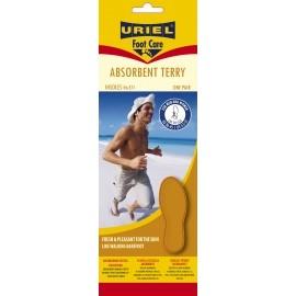 Uriel ABSORBANT-U5 TERRY INSOLES - Vložky do topánok