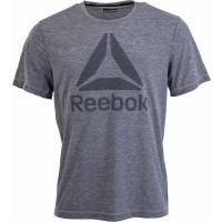 Reebok WORKOUT READY BIG LOGO SUPREMIUM TEE - Pánske tričko