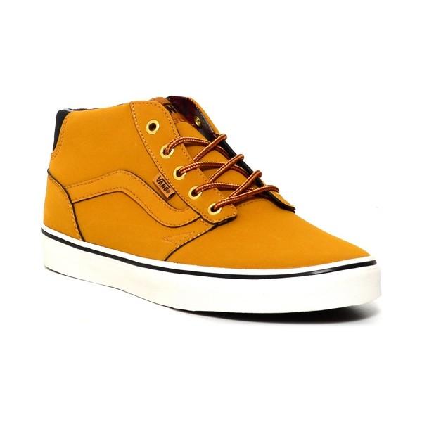 Vans M CHAPMAN MID (Buck) Spruce/Black - Pánske voľnočasové topánky