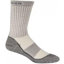 Icebreaker WMNS HIKE BASIC MED CRW - Dámske ponožky