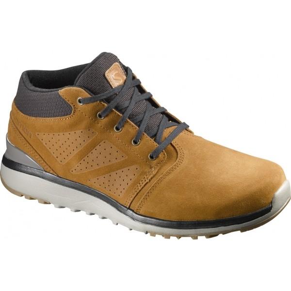 Salomon UTILITY CHUKKA TS WR - Pánska zimná obuv