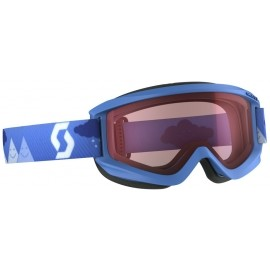 Scott JR AGENT SGL BLUE - Detské lyžiarske okuliare