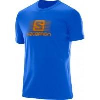 Salomon BLEND LOGO SS TEE M - Pánske tričko
