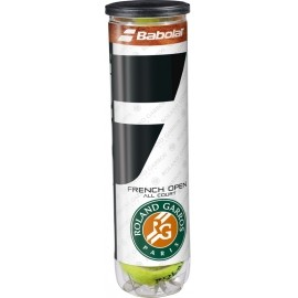 Babolat FRENCH OPEN ALL COURT X4 - Tenisové loptičky