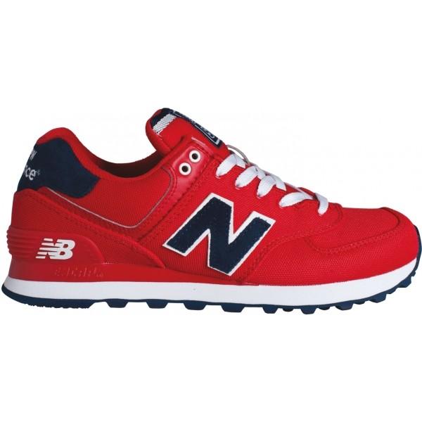 New Balance WL574POR - Dámska voľnočasová obuv