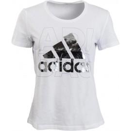 adidas FOIL LOGO - Dámske tričko
