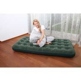 Bestway FLOCKED AIT BED GN