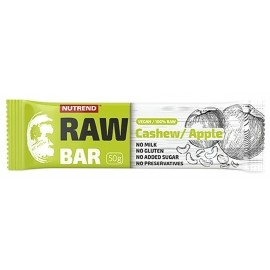 Nutrend RAW BAR 50G  KEŠU+JABLKO