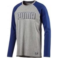 Puma STYLE ATHLETIC LS TEE - Pánske tričko