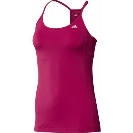 Fitness tielko - adidas CLAMA ESS STRAPPY TANK - 1 77d00859acb