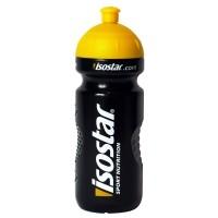 Isostar BIDON BLACK 650ML - Univerzálna športová fľaša