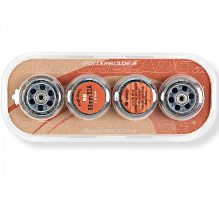 Sada náhradných inline koliesok - Rollerblade WHEELS PACK 80-82A+SG7