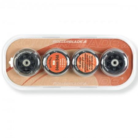 Sada náhradných inline koliesok - Rollerblade WHEELS PACK 84-84A+SG7