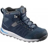 Salomon UTILITY TS CSWP J - Juniorská zimná obuv obuv